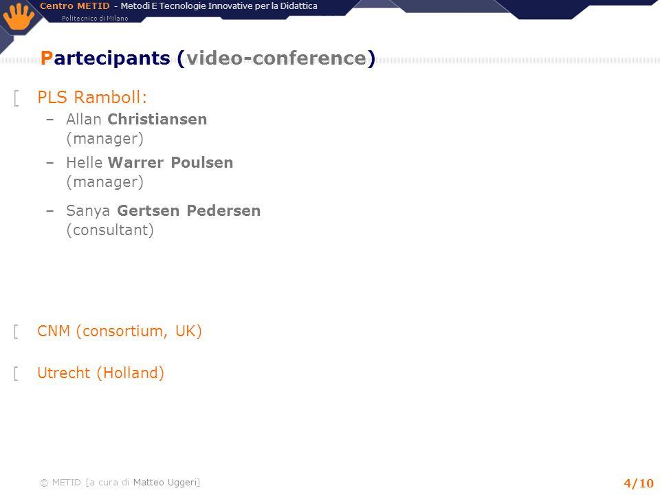 Partecipants (video-conference)
