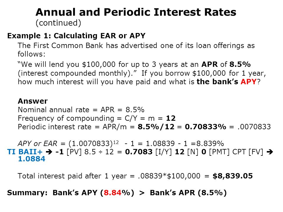 money and annual interest rate Want to learn more about interest rates and how they  managing your money  your interest rate goes up and down in response to changes in the cash rate and.