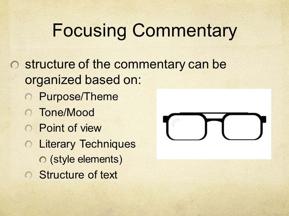 points of view commentary Home → sparknotes → literature study guides → animal farm → study questions animal method of political commentary story from the point of view of.