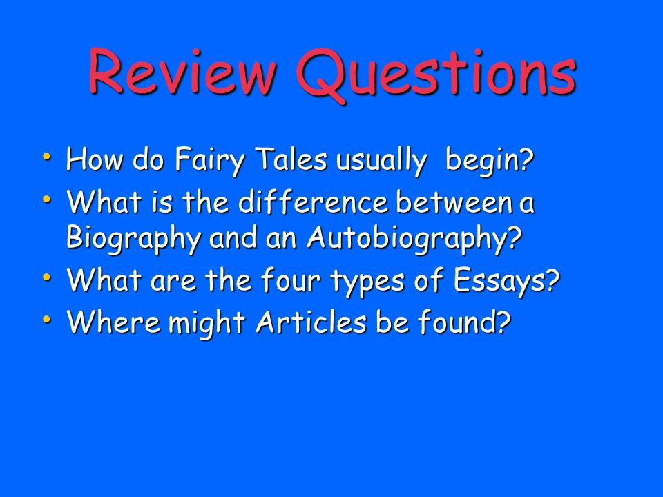 different types of literature ppt video online  25 review