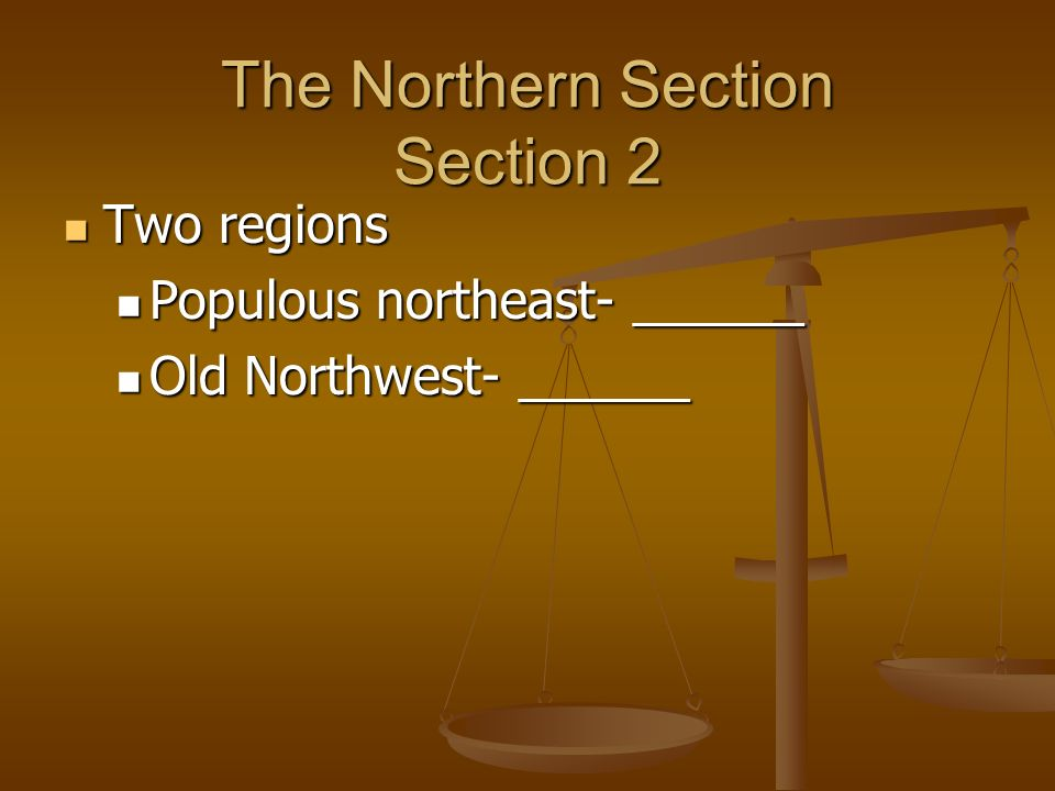 The Northern Section Section 2