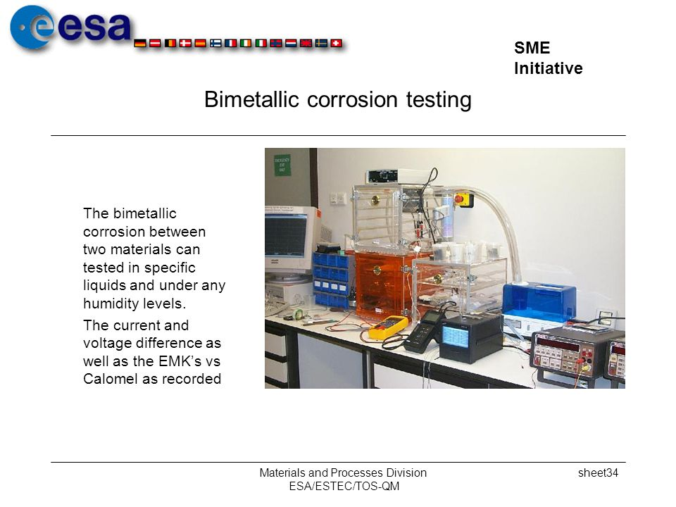 Bimetallic corrosion testing
