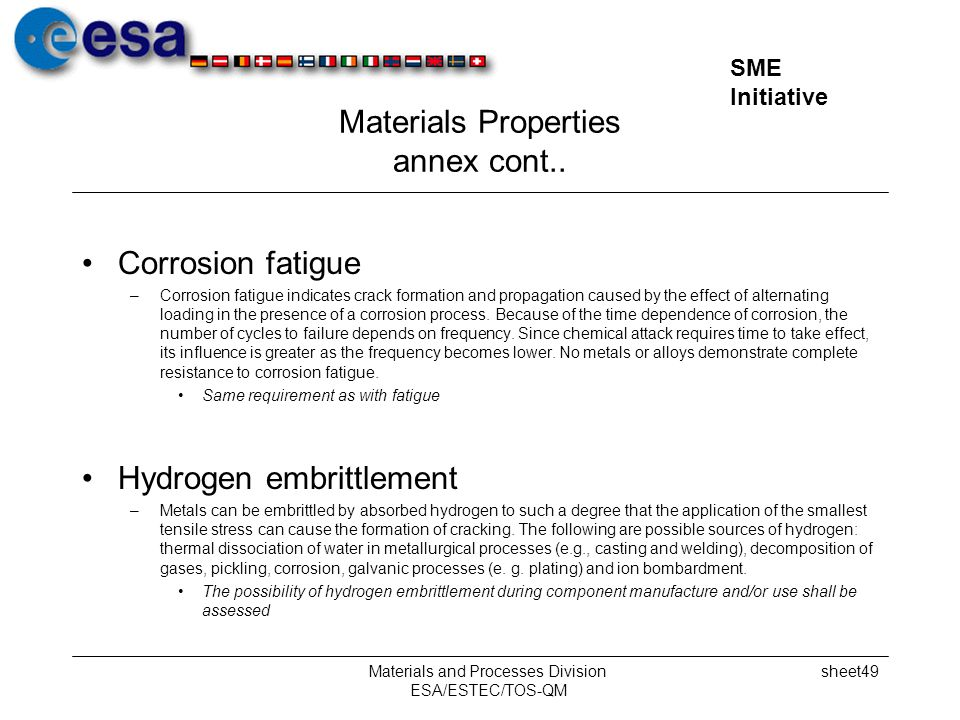 Materials Properties annex cont..