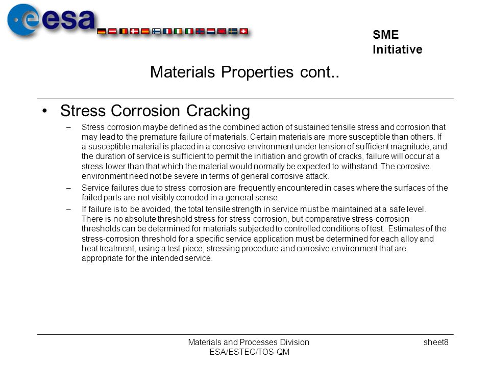 Materials Properties cont..