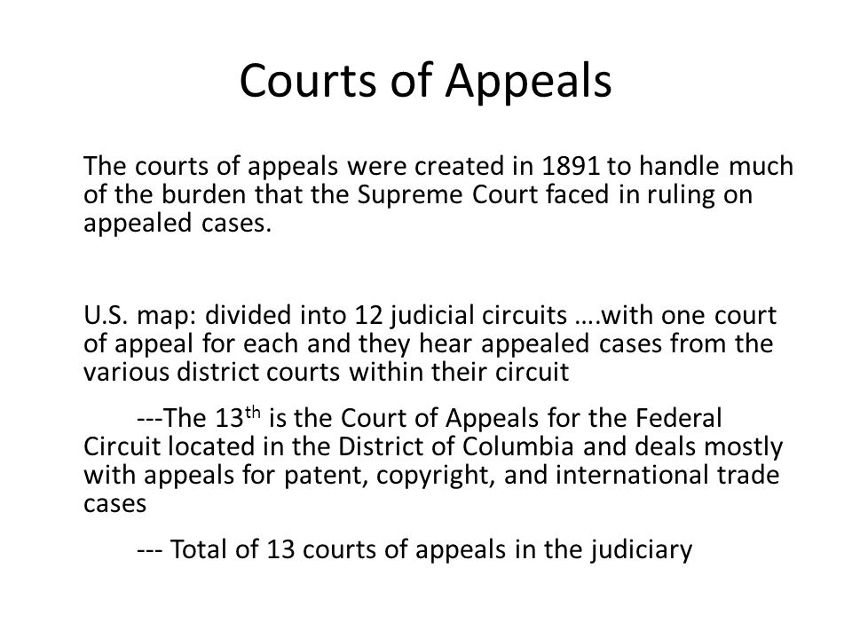 Chapter The Federal Court System Ppt Video Online Download - Us federal circuit map