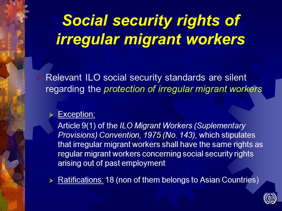 Social security rights of irregular migrant workers