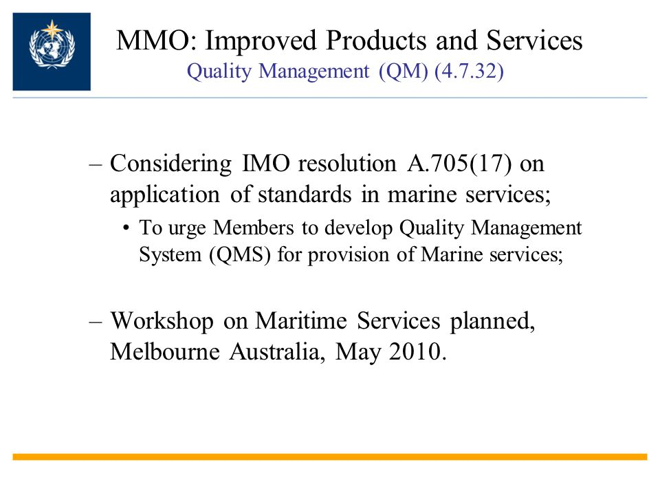 MMO: Improved Products and Services Quality Management (QM) (4.7.32)