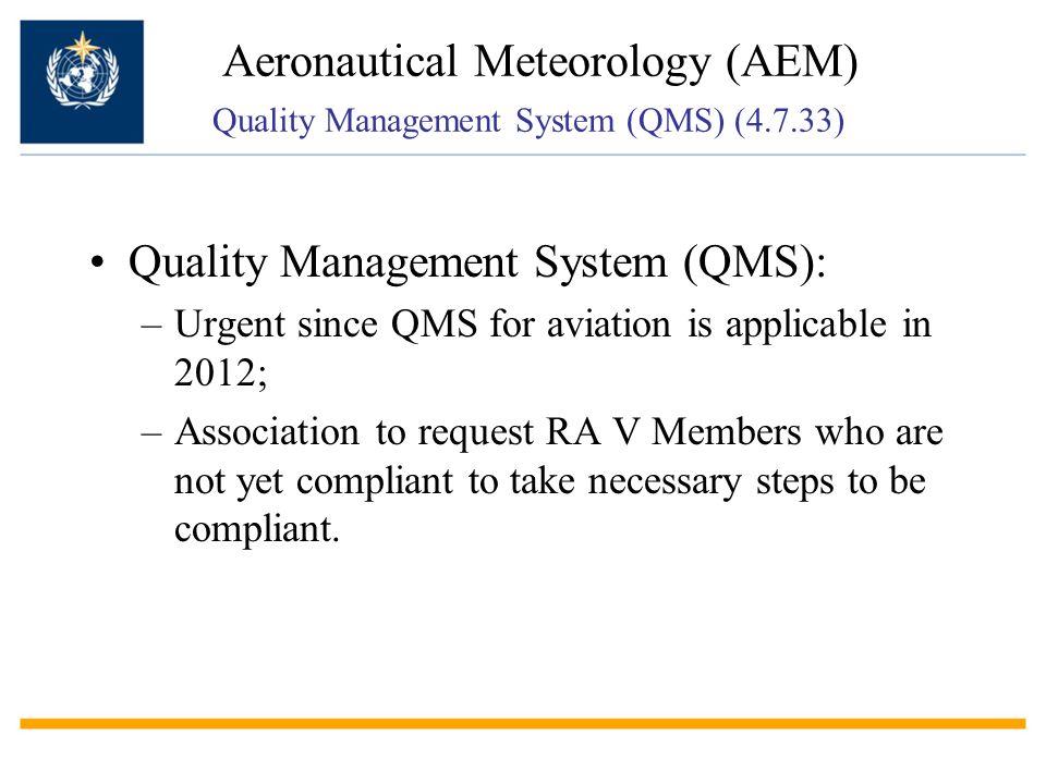 Quality Management System (QMS):