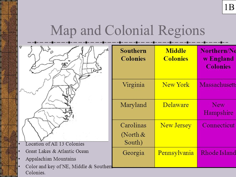 the characteristics of the new england and southern colonies in the united states The puritans founded the northern colonies of new england the southern colonies  handlin, oscar the history of the united states vol 1 new york: holt.