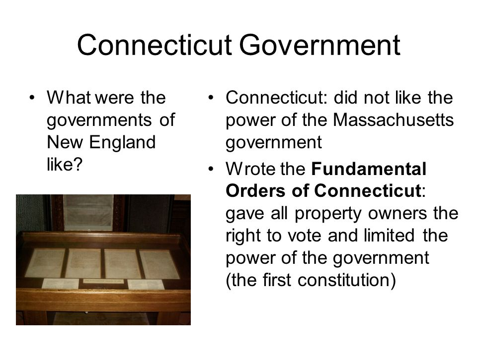 Connecticut Government