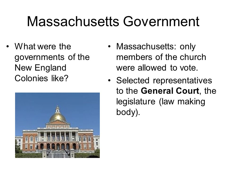 Massachusetts Government