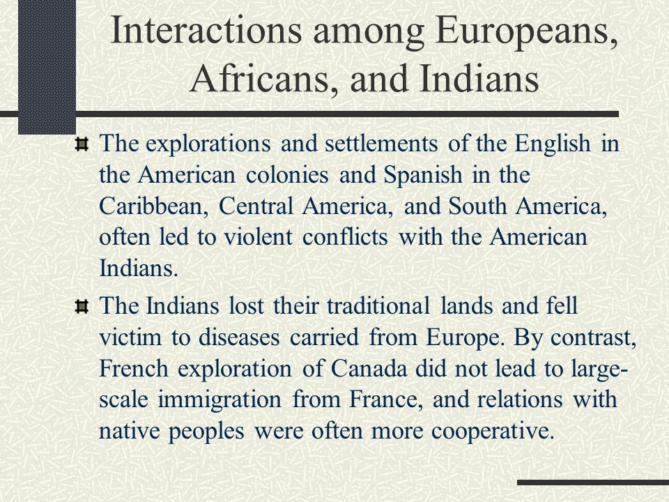 compare and contrast the french spanish and english and thier colonies Spanish and english colonization compare and contrast the spanish and english motives for colonization.
