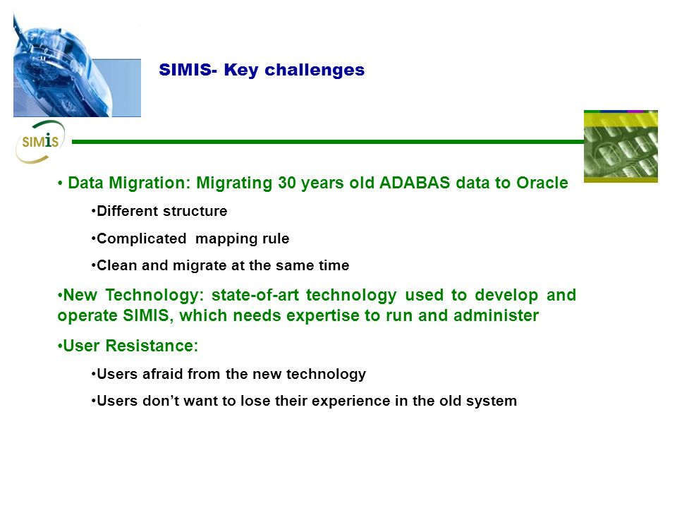 Data Migration: Migrating 30 years old ADABAS data to Oracle