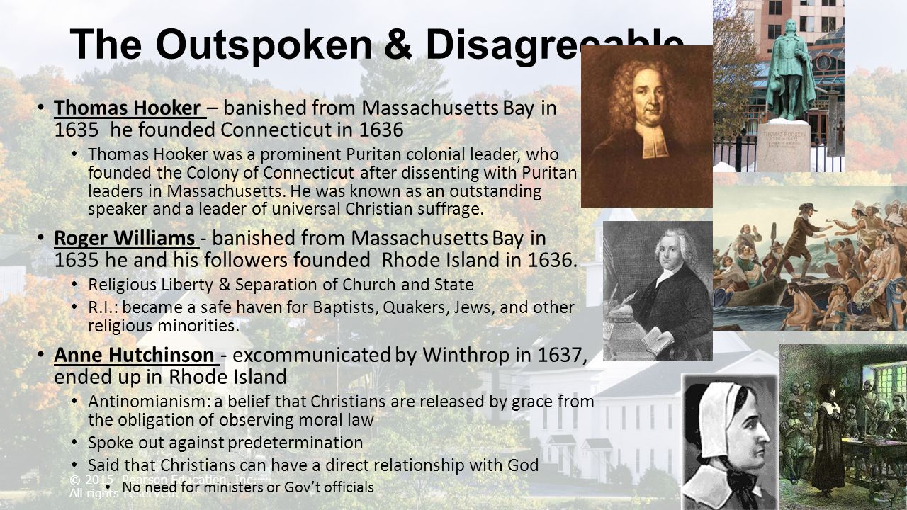anne hutchinson and puritan leadership