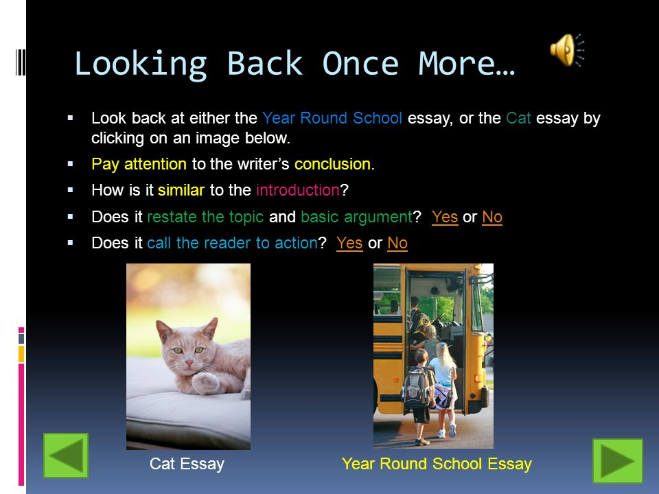 persuasive writing ppt  22 looking back once more look back at either the year round school essay