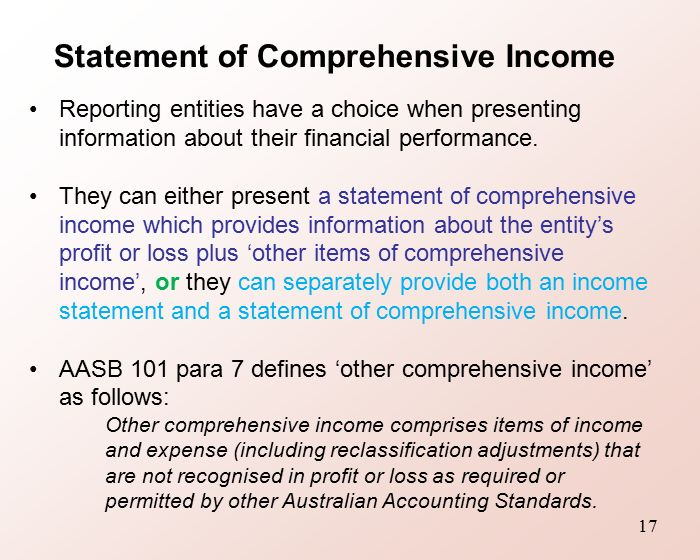 financial reporting handbook difference between australia and new zealand