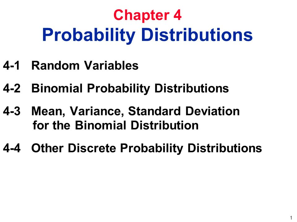 Chapter 4 Probability Distributions Ppt Video Online Download. Chapter 4 Probability Distributions. Worksheet. Worksheet Binomial Distribution Multiple Choice At Mspartners.co