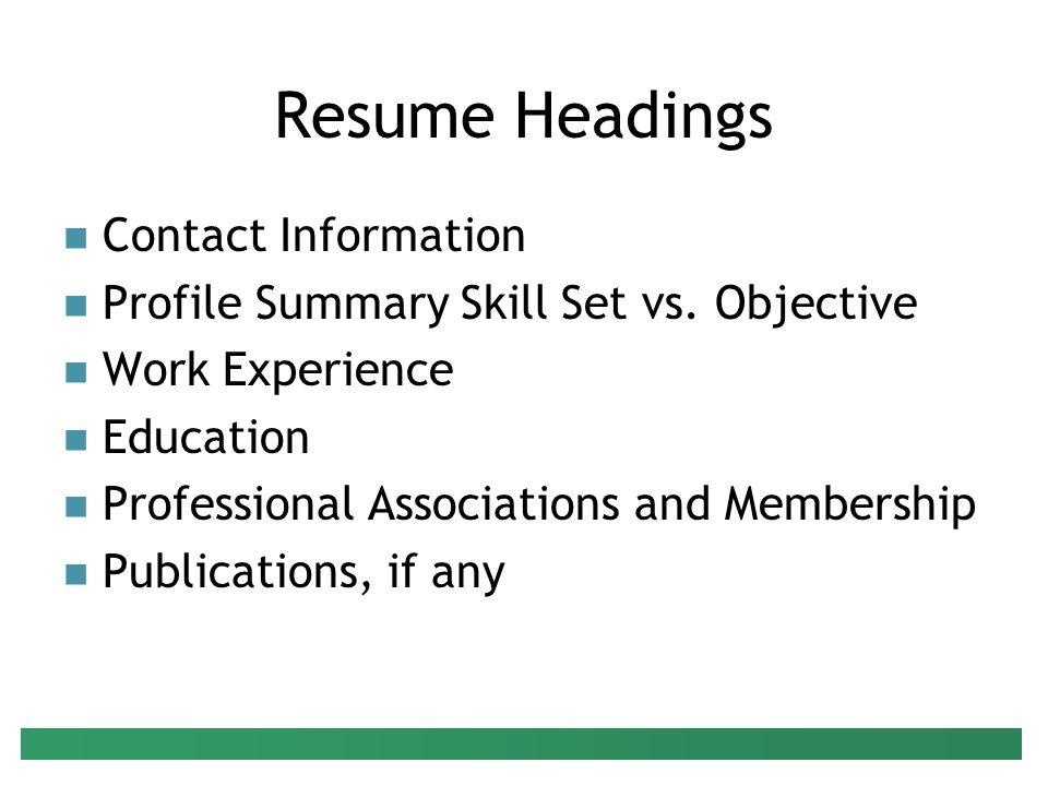 preparing your resume presenter  peter g  raeth  ph d