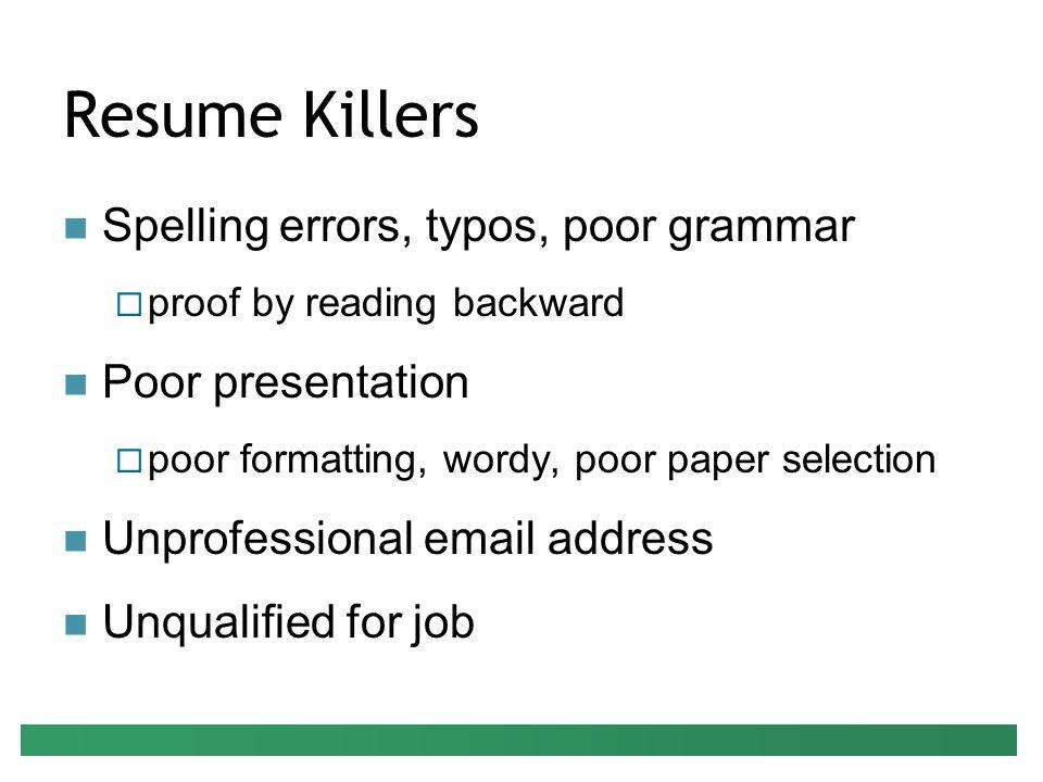 preparing your resume presenter peter g raeth ph d ppt download