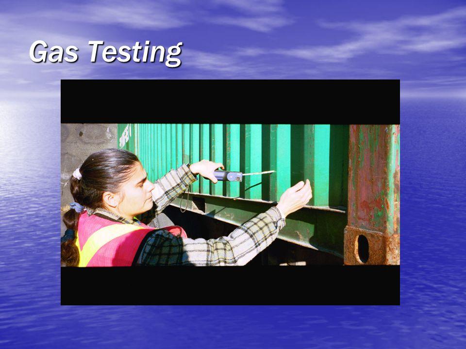 Gas Testing 1.