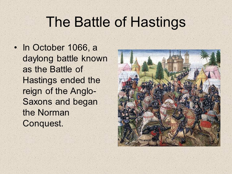 the reason normans won the battle of hastings In conclusion i think the most important reason that william won the battle of hastings was that when the normans used the strategy to retreat and then turn and kill the english in the war that was the turning point in the battle if they hadn't thought of that then anyone could have won and there was also some luck on williams side.