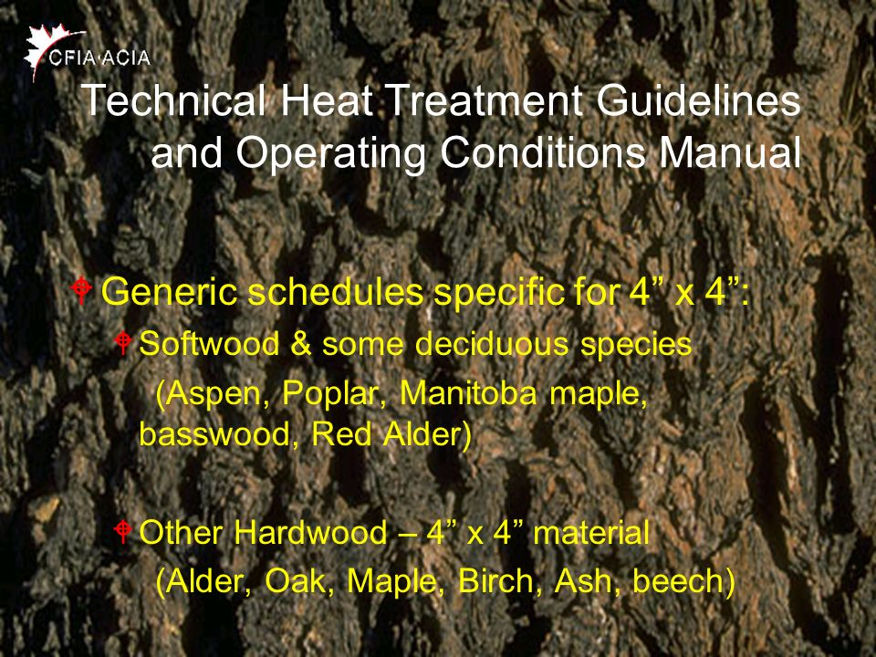 Technical Heat Treatment Guidelines and Operating Conditions Manual
