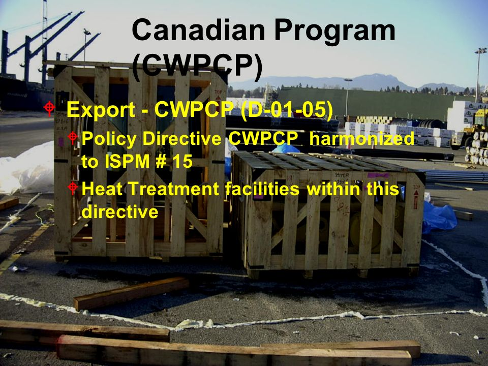 Canadian Program (CWPCP)