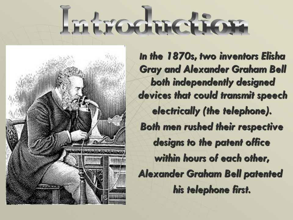 an introduction to the life of alexander graham One would think that i had never done anything worthwhile but the telephone, complained alexander graham bell no wonder he was annoyed bell invented the phone when he was just 29 and.