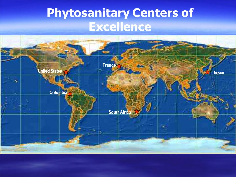 Phytosanitary Centers of Excellence