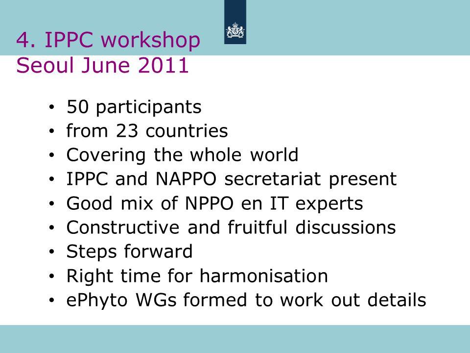 4. IPPC workshop Seoul June 2011
