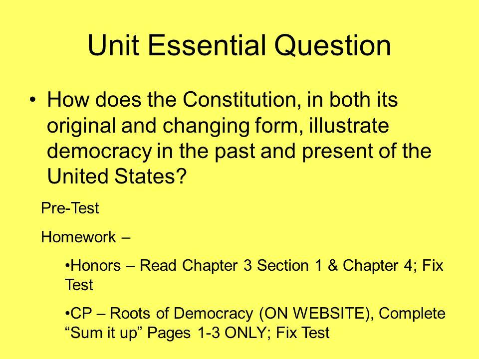 ap gov federalism homework