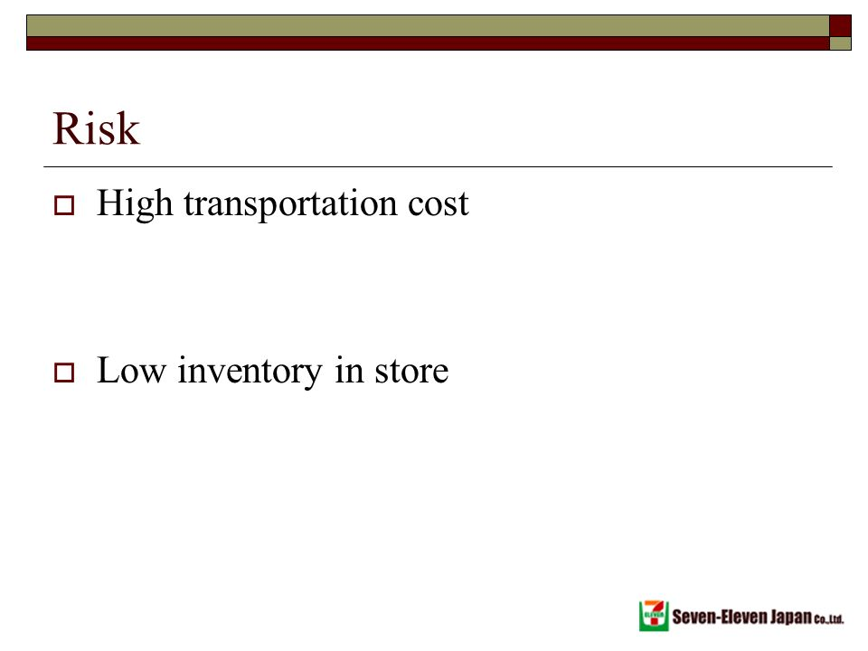 convenience store supply chain can be responsive what are some risks in each case 1 a convenience store chain attempts to be responsive and provide customers what they need, when they need it, where they need it what are some different ways that a convenience store supply chain can be responsive what are some risks in each case as responsiveness increase.