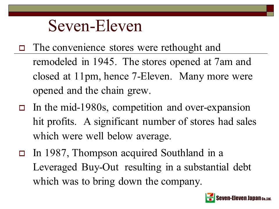 Seven Eleven Case by Ebbie T on Prezi