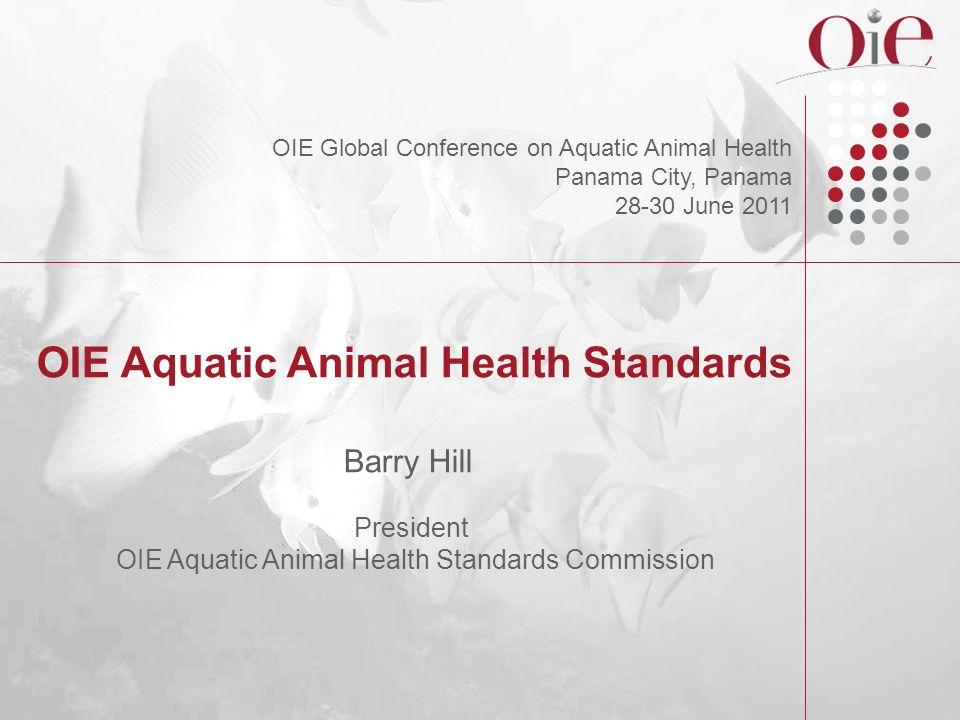 OIE Aquatic Animal Health Standards