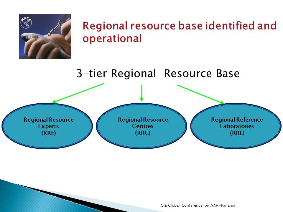 3-tier Regional Resource Base