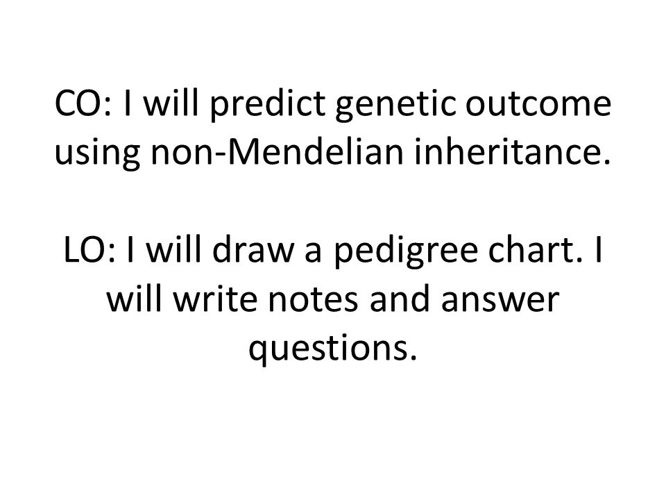Medical Genetics Questions
