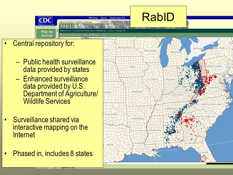 RabID Central repository for: