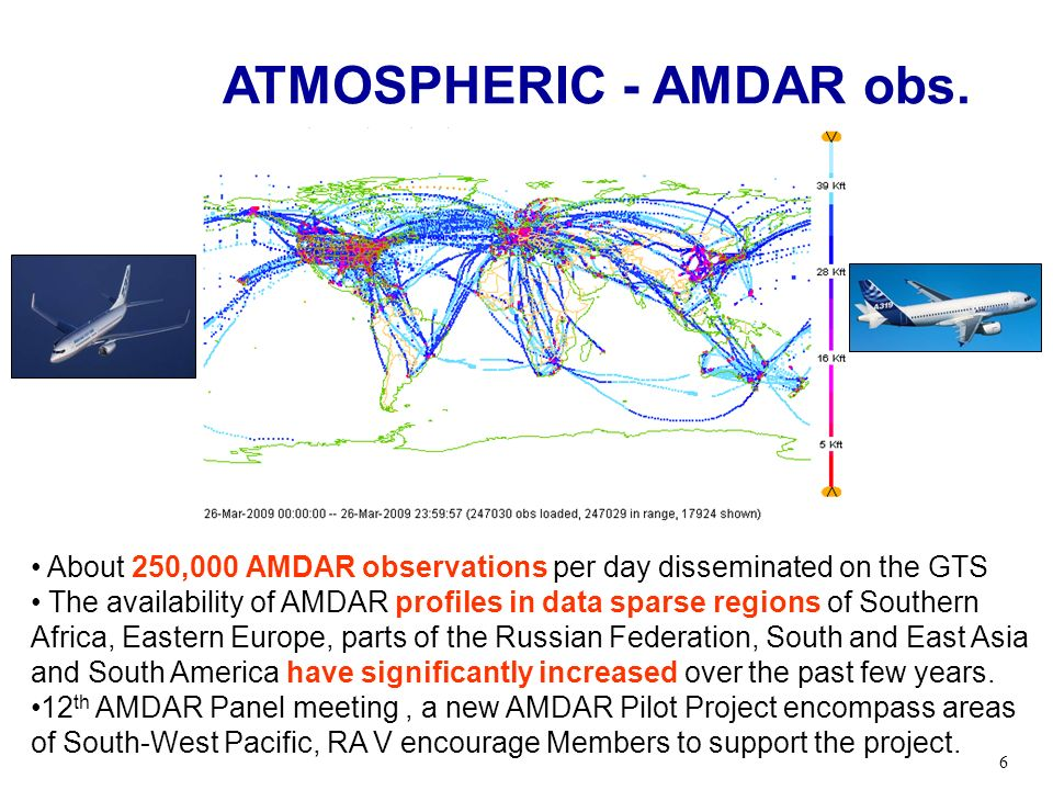 ATMOSPHERIC - AMDAR obs.