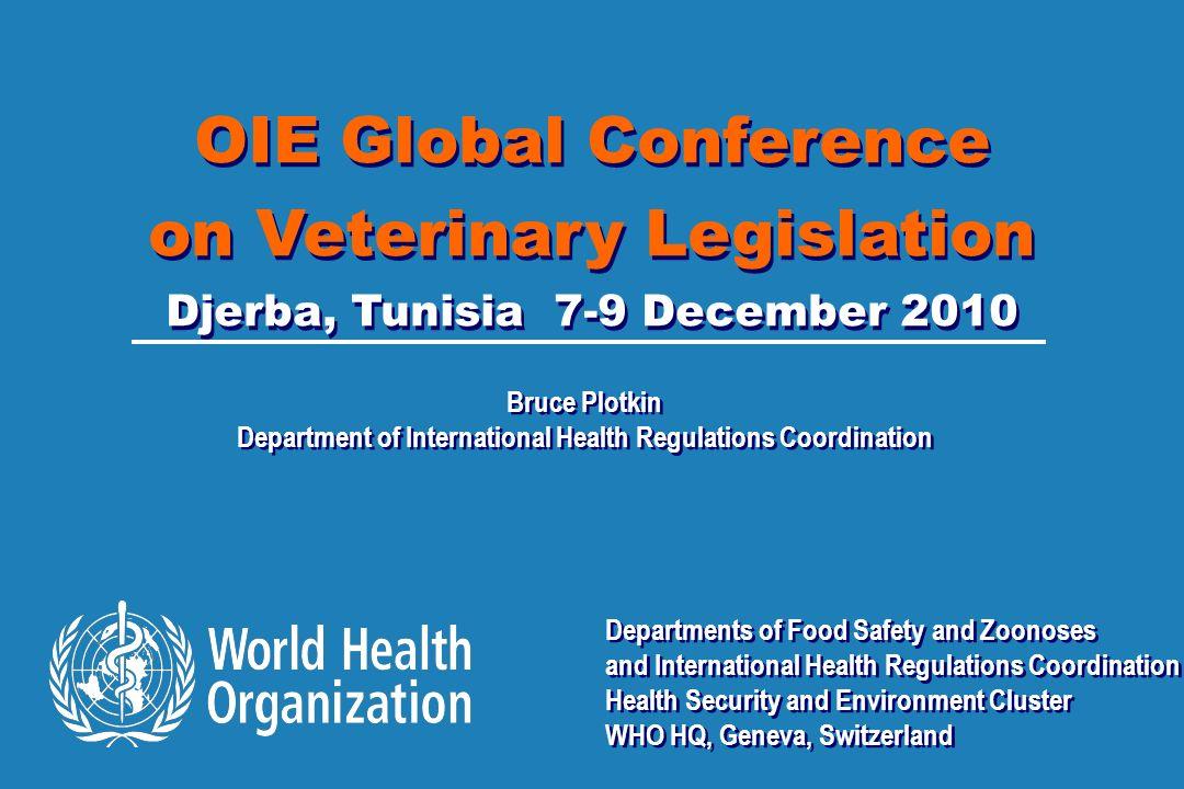 Department of International Health Regulations Coordination