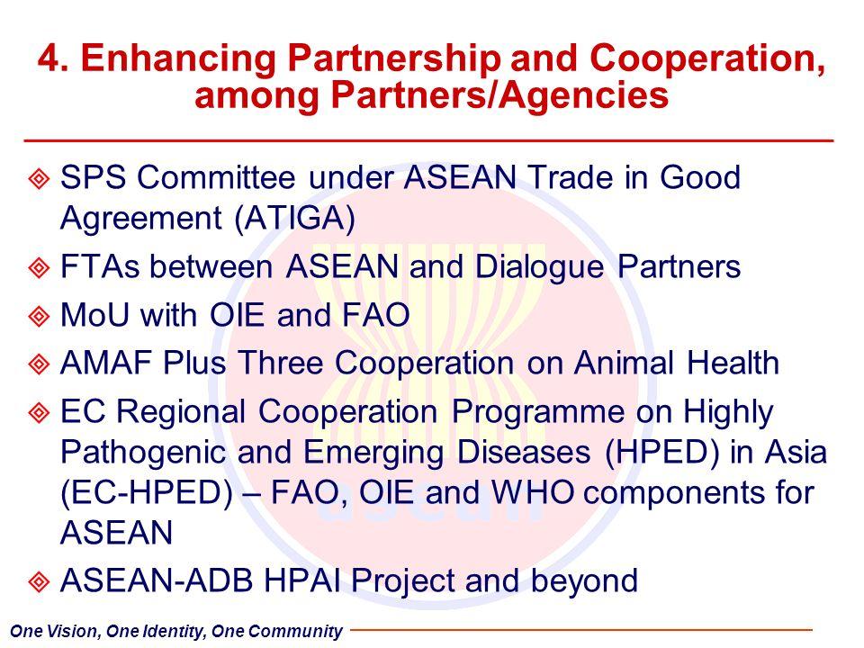 4. Enhancing Partnership and Cooperation, among Partners/Agencies