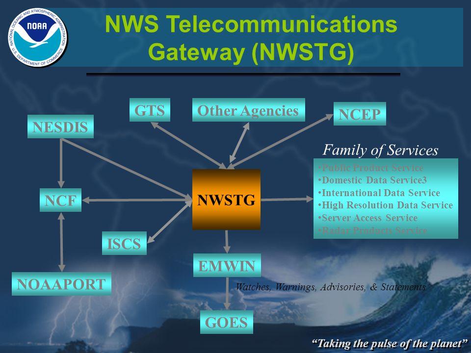 NWS Telecommunications Gateway (NWSTG)