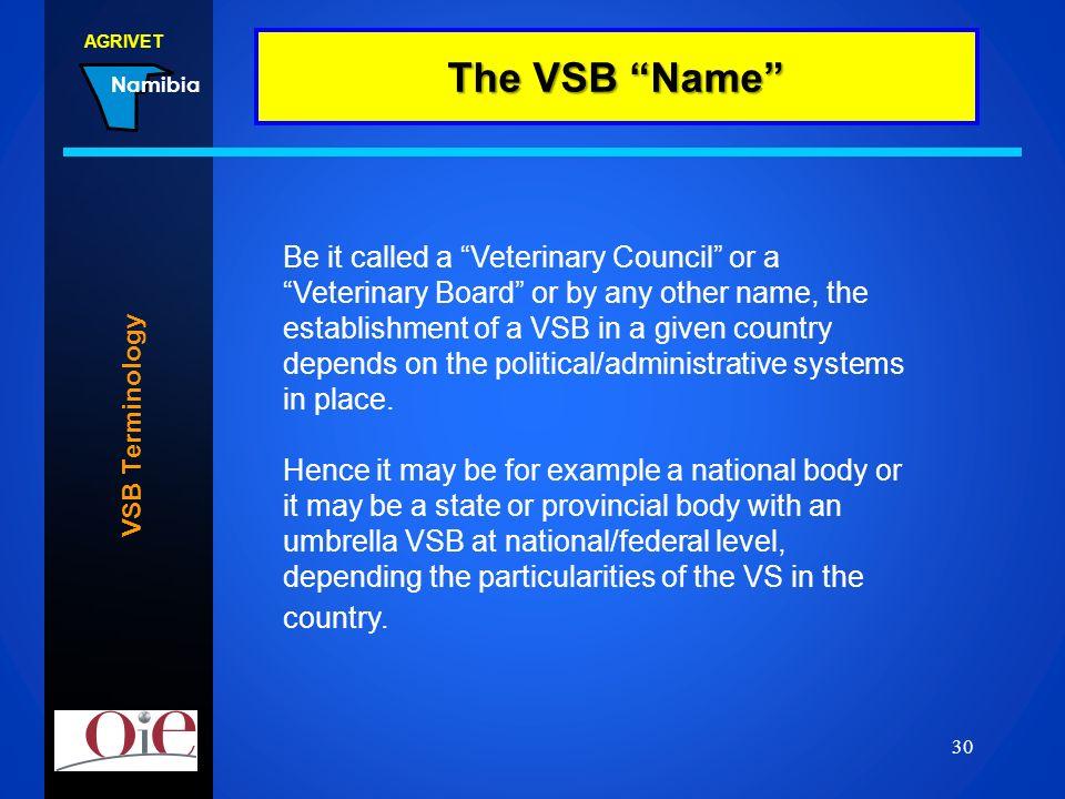 The VSB Name