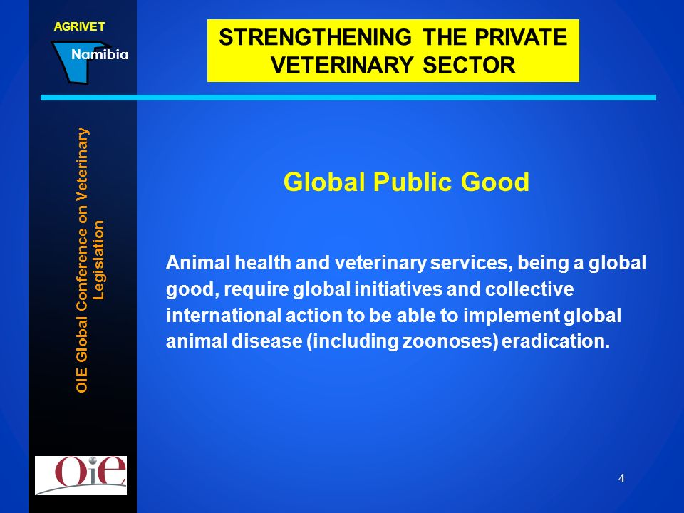 OIE Global Conference on Veterinary Legislation
