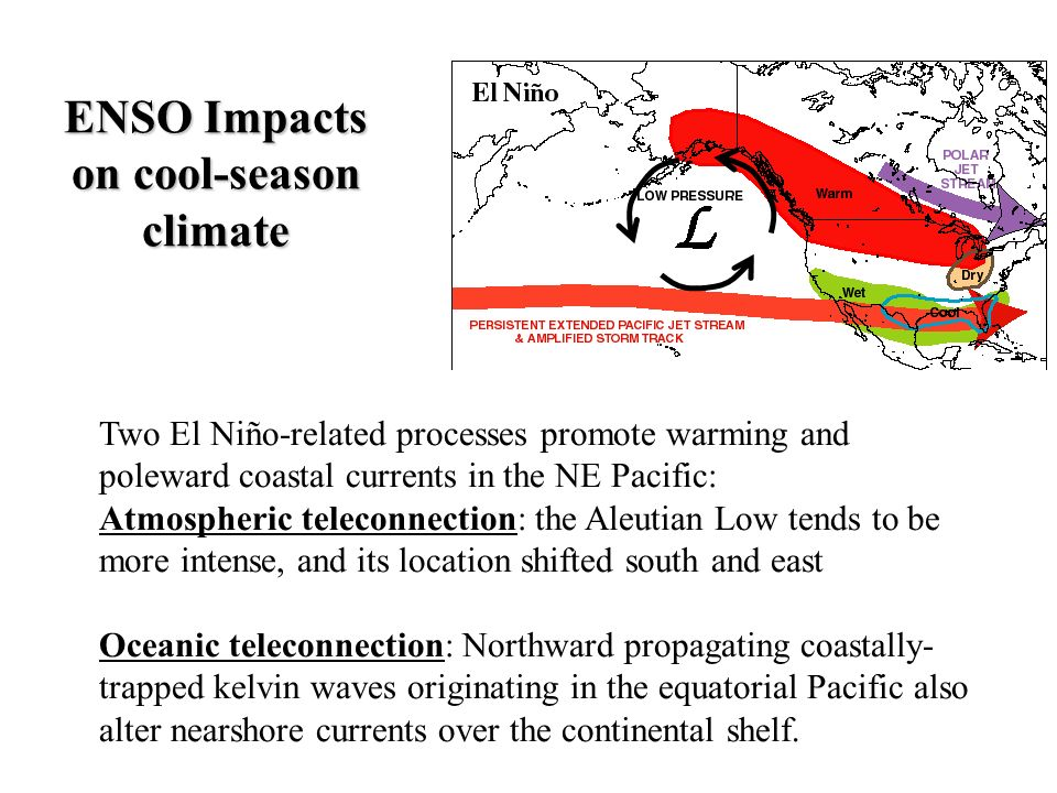 ENSO Impacts on cool-season climate