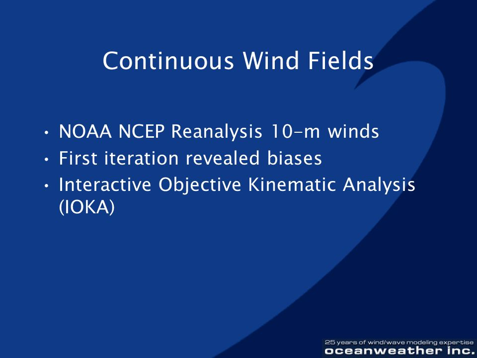 Continuous Wind Fields