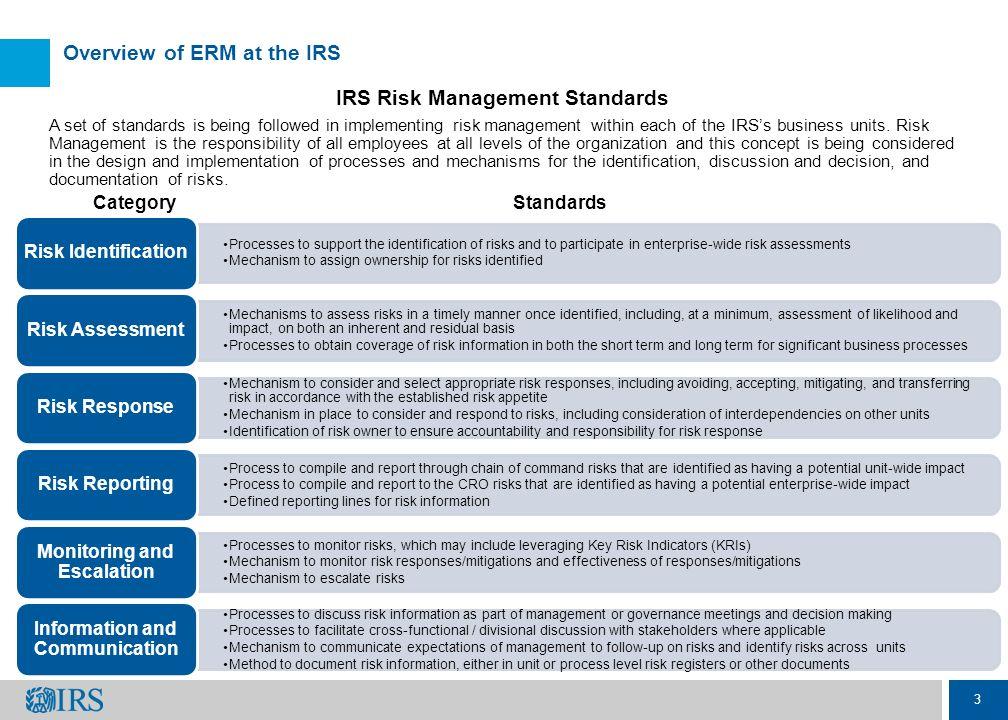 enterprise risk management process pdf