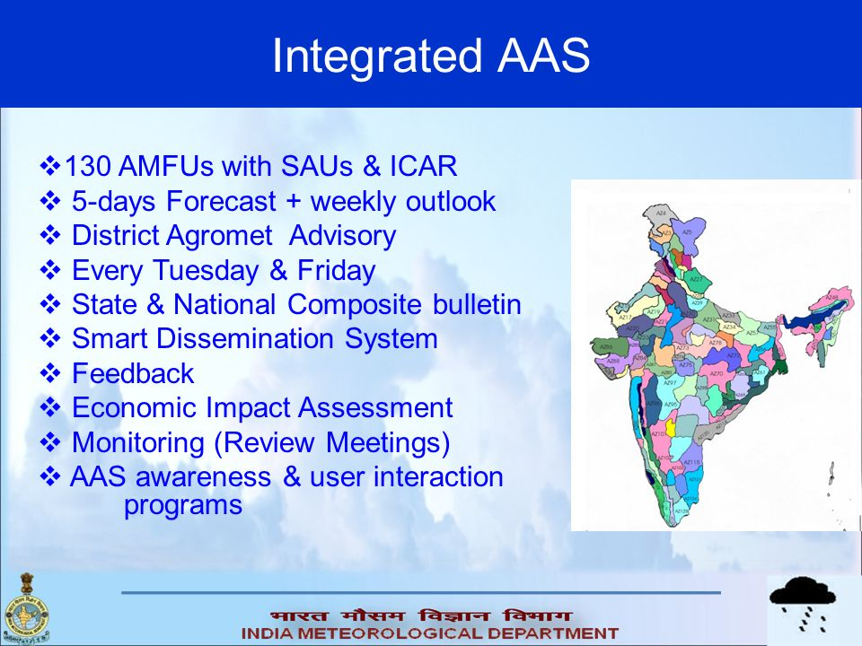 Integrated AAS 130 AMFUs with SAUs & ICAR