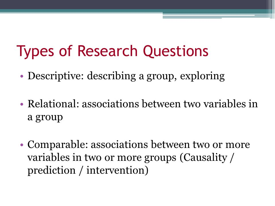 types of business research questions Interview as a method for qualitative research presentation by dapzury valenzuela types of topics in questions behaviors - what a person has done or is doing.