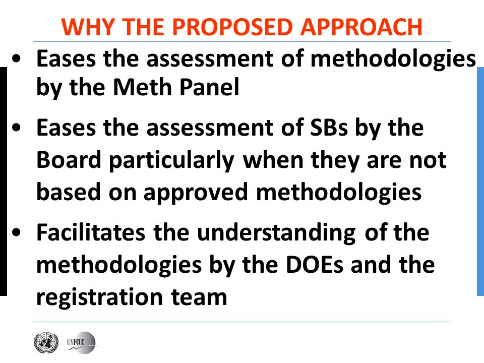 WHY THE PROPOSED APPROACH