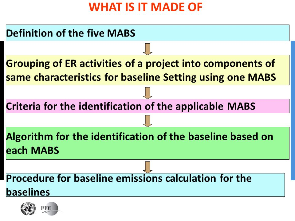 WHAT IS IT MADE OF Definition of the five MABS